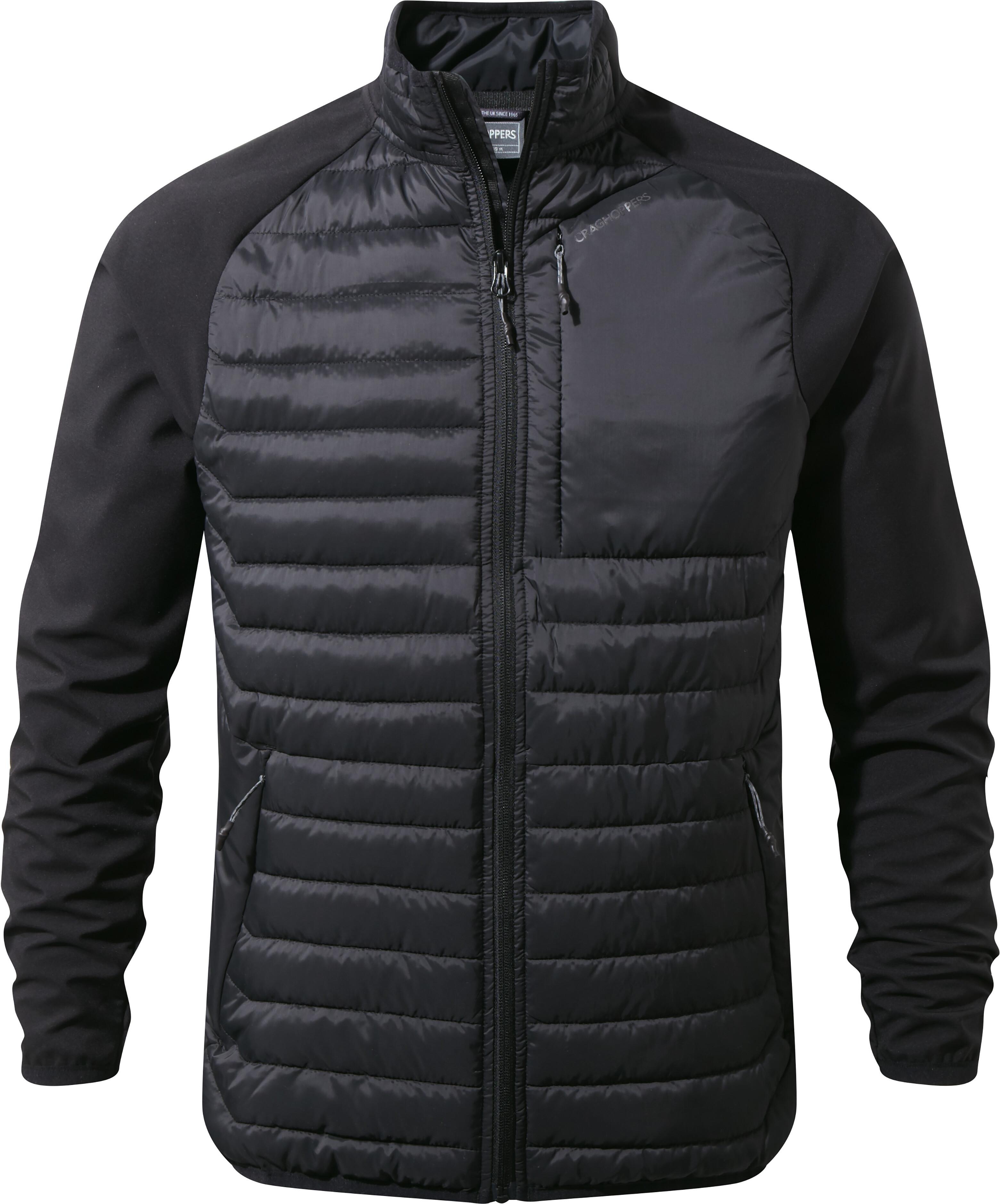 100% genuine many styles top fashion Craghoppers Voyager Veste hybride Homme, black